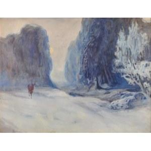 Jerzy HULEWICZ (1886-1941), Zima, 1916