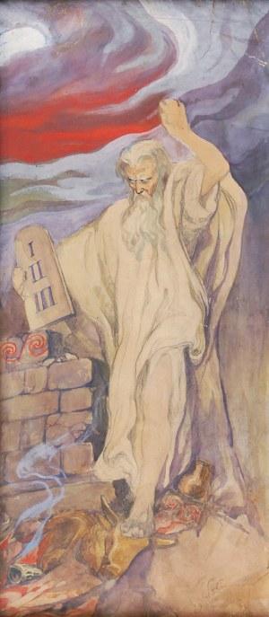 Stanisław WYSPIAŃSKI (1869-1907), Mojżesz, 1904