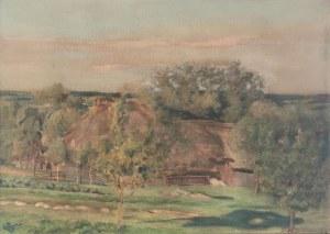 Stefan BUKOWSKI (1878-1929), Motyw wiejski, 1918