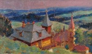 Aleksander BOBA (1899-1944), Motyw z Lanckorony, 1934