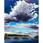 Izabela Gałązka, Most., olej na płótnie, 81x65cm, sygn.p.d