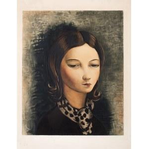 Moïse (Mojżesz) Kisling (1891 Kraków - 1953 Sanary-sur-Mer), Portret młodej dziewczyny