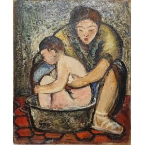 Zdzisław Cyankiewicz (Cyan) (1912 Czechowice - 1981 Paryż), Toaleta