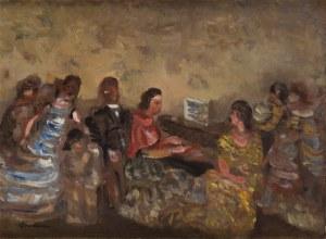 Alfred Aberdam (1894 Lwów - 1963 Paryż), Wokół fortepianu