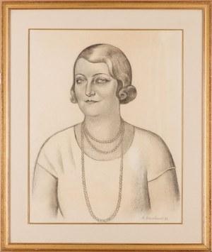Henryk Berlewi (1894 - 1967), Kobieta z perłami, 1931 r.