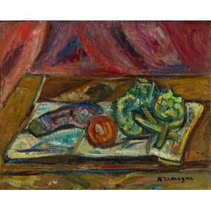 Pinchus Kremegne (1890 Zaloudock - 1981 Céret), Martwa natura na stole