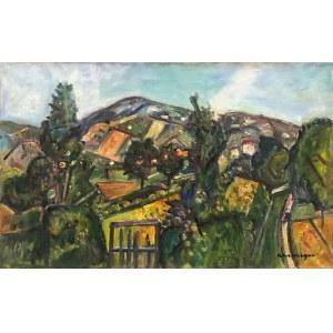 Pinchus Kremegne (1890 Zaloudock - 1981 Céret), Wiejski krajobraz