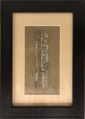 Jean Lambert - Rucki (1888 Kraków - Paryż 1967), Kompozycja, 1951