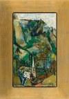 Joseph Pressmane (1904 Beresteczko - 1967 Paryż), Wiejski krajobraz