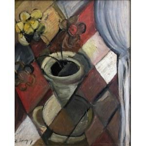 Elisabeth Ronget (Chojnice (Conitz) 1896 – Paryż 1962), Kubistyczna waza z kwiatami