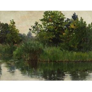 Emil (Lindemann) Lindeman (1864-Ok. 1945), Nad stawem - Surówka