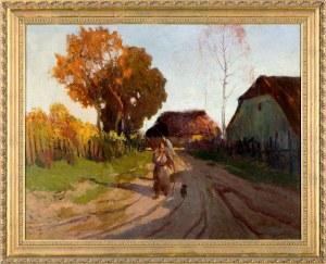Roman Bratkowski (1869-1954), Kobieta z chrustem
