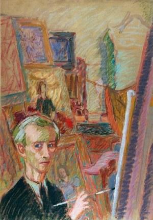 Wacław Taranczewski (1903-1987), Artysta w pracowni, 1943