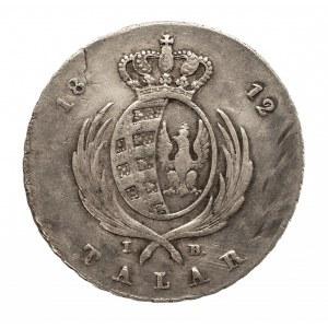 Polska, Księstwo Warszawskie 1807-1815, talar 1812I.B., Warszawa