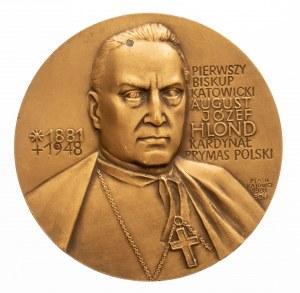 AUGUST JÓZEF HLOND PRYMAS POLSKI. PTAiN 1988.