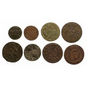 Zestaw 8 monet XVIII - XIX wiek.
