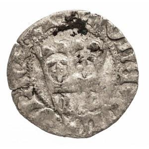 Polska, Władysław Jagiełło 1386–1434, półgrosz koronny 1408–1410, W+, Wschowa.