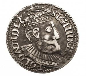 Polska, Zygmunt III Waza 1587-1632, trojak 1598, Olkusz.