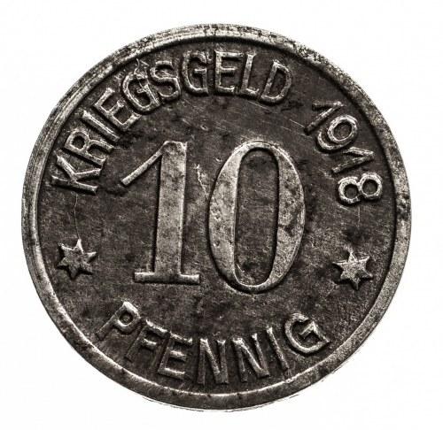 Głogówek. OBER_GLOGAU 10 pfennig 1918.