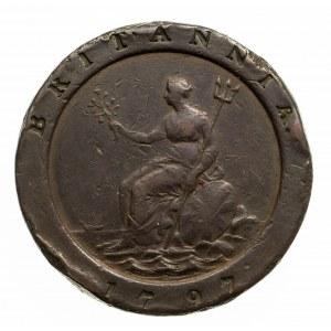 Wielka Brytania, Jerzy III (1760–1820), 2 pensy 1797, Birmingham.