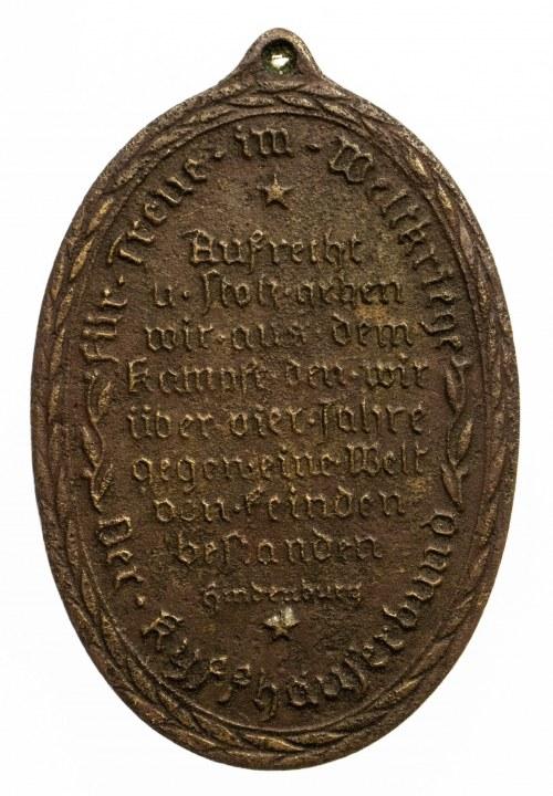 Niemcy, medal Weteranów I Wojny Światowej.
