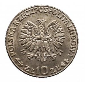 Polska, PRL 1944-1989, 10 złotych 1971 FAO - chleb dla świata, próba