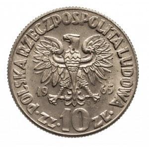 Polska, PRL 1944-1989, 10 złotych 1965, Kopernik