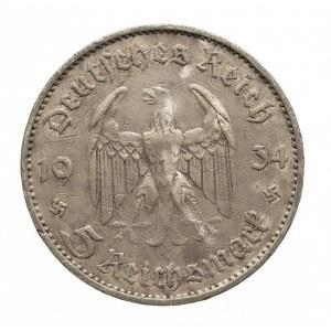 Niemcy, III rzesza 1933-1945, 5 marek 1934 G, Kościół garnizonowy w Poczdamie