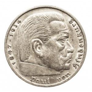 Niemcy, III Rzesza 1933-1945, 5 marek 1936 A, Hindenburg (2)