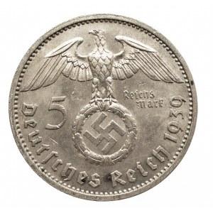Niemcy, III Rzesza 1933-1945, 5 marek 1939 A, Hindenburg