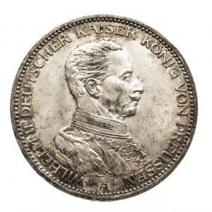 Niemcy, Cesarstwo Niemieckie 1871-1918, Prusy, 3 marki 1914 A