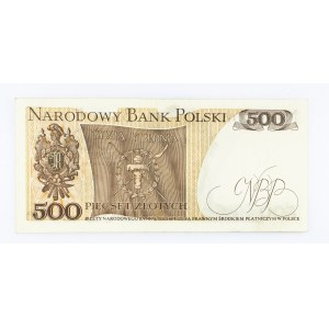 Polska, PRL 1944 - 1989, 500 ZŁOTYCH 15.06.1976, seria AF.