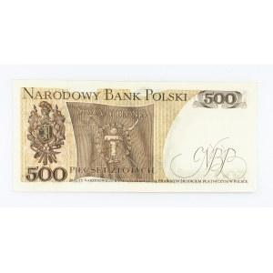 Polska, PRL 1944 - 1989, 500 ZŁOTYCH 15.06.1976, seria AH.