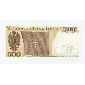 Polska, PRL 1944 - 1989, 500 ZŁOTYCH 15.06.1976, seria AU.