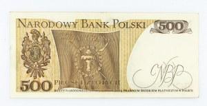 Polska, PRL 1944 - 1989, 500 ZŁOTYCH 16.12.1974, seria F.
