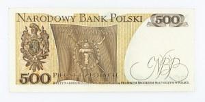 Polska, PRL 1944 - 1989, 500 ZŁOTYCH 16.12.1974, seria K.