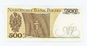 Polska, PRL 1944 - 1989, 500 ZŁOTYCH 16.12.1974, seria M.