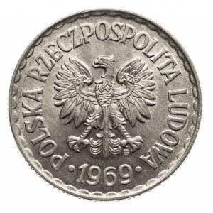Polska, PRL 1944-1989. 1 złoty 1969, Warszawa