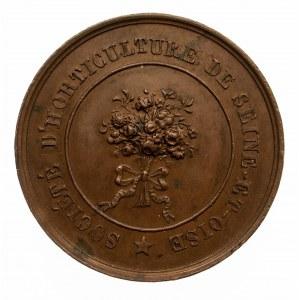 Francja, medalik Towarzystwa Rolniczego w Seine et Oise, 1840