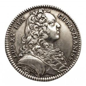 Francja, Ludwik XV Ukochany 1715-1774, żeton