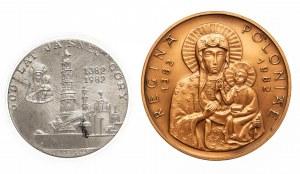 Polska, Papież Jan Paweł II 1978-2005, zestaw 2 medali