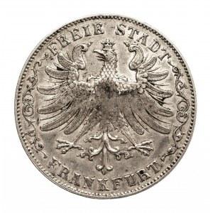 Niemcy, Frankfurt, 1 gulden 1849, punca SEDLMAYR