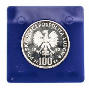 Polska, PRL 1944-1989, 100 złotych 1982 Bocian