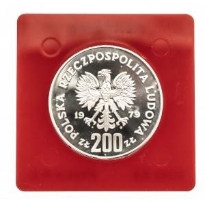 Polska, PRL 1944-1989, 200 złotych 1979 Mieszko I, próba