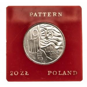 Polska, PRL 1944-1989, 20 złotych 1980, Łódź - 1905, próba