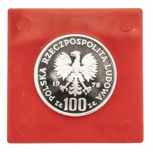 Polska, PRL 1944-1989, 100 złotych 1978, Interkosmos, próba