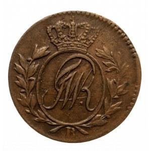 Prusy Południowe, Fryderyk Wilhelm II 1786-1797, półgrosz 1796 B, Wrocław