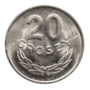 Polska, PRL 1944-1989, 20 groszy 1949 aluminium