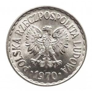 Polska, PRL 1944-1989, 1 złoty 1970