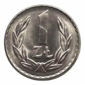 Polska, PRL 1944-1989, 1 złoty 1965